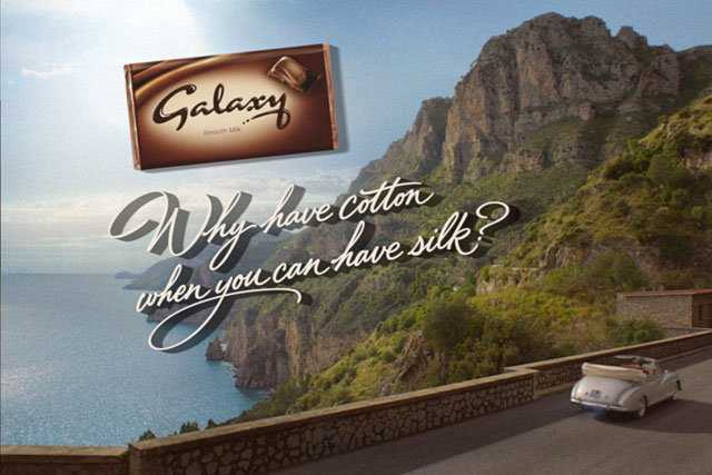 Galaxy: chocolate brand revives previous strapline in latest ad