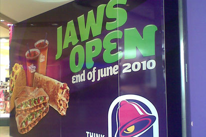 Taco Bell: returns to the UK
