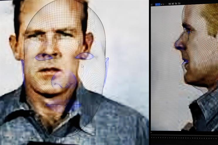 'The long shot': faces of prisoners were scanned and compared with millions of others