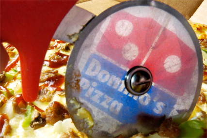 Domino's: launches gluten-free pizzas