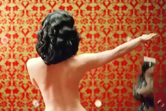 Renault Clio: Dita Von Teese strips off in new TV campaign