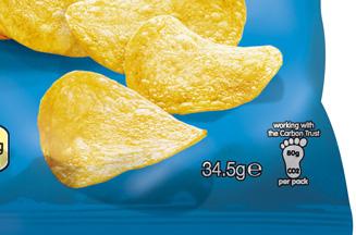 PepsiCo explains how it measured the carbon footprint of Walkers Crisps