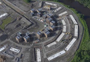 The site of the Glasgow 2014 Athletes' Village