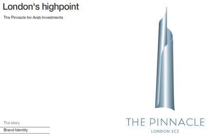 The Pinnacle: brand identity created by Totality