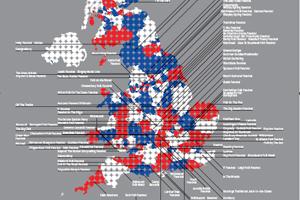 Map Of Uk Festivals.Great British Festivals Map Revealed