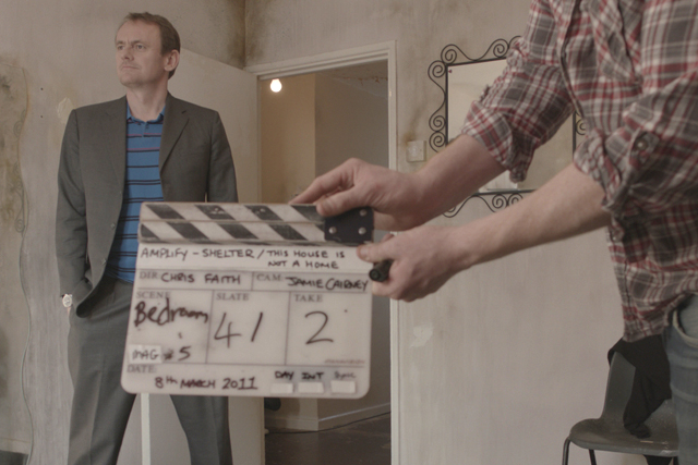 Sean Lock: the unscrupulous landlord in Shelter's latest campaign