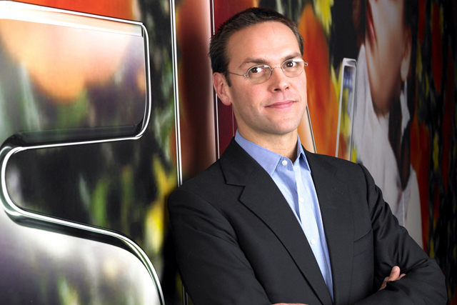 James Murdoch: taking on wider role at News Corp, based in the US