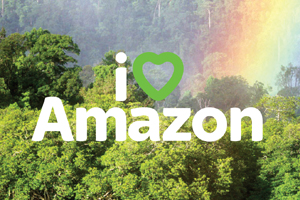 The campaign aims to highlight work to save the rainforest