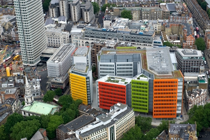 Central St Giles: Google UK sales team move into new 'medialand'