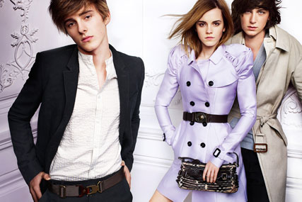 Burberry: rolls out spring/summer campaign featuring Emma Watson