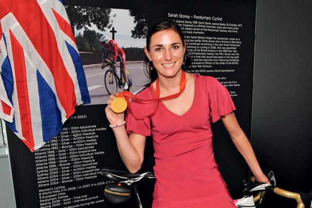 Sarah Storey: Links of London brand ambassador