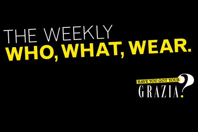 Grazia: outdoor campaign coincides with London Fashion Week