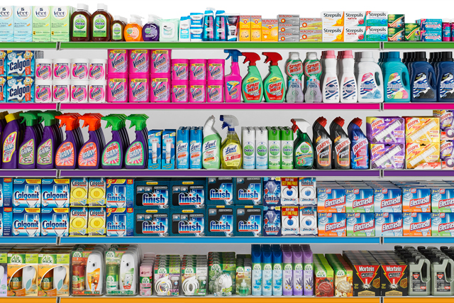 Reckitt Benckiser: reports a 13% lift in pre-tax profits