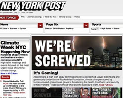 New York Post: irreverent US tabloid