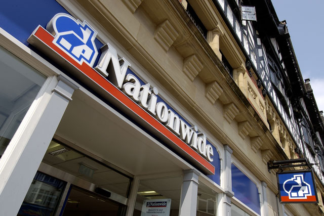 Nationwide: saw a recent increase in applications for its current account