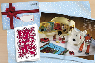 John Lewis Christmas mail pack