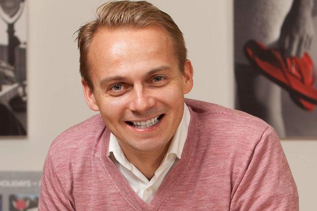 Andrew Shelton: Virgin Holidays marketing director (photo: Steve Orino)