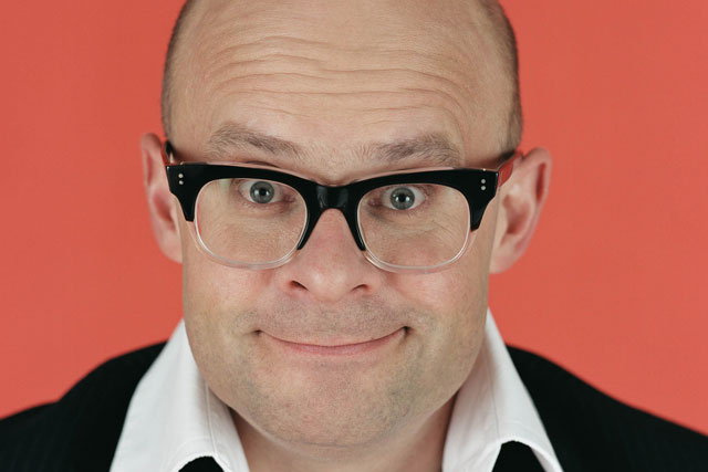 Harry Hill: provides the voiceover for T-Mobile's latest TV campaign