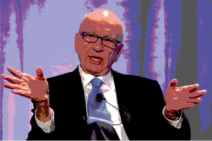 Rupert Murdoch. Credit: Getty Images