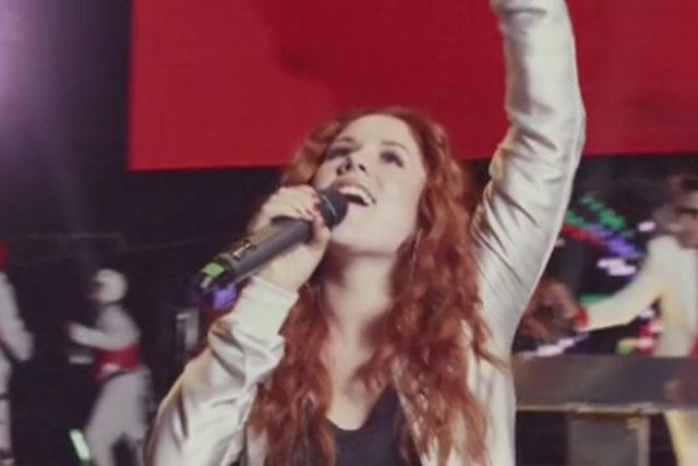 Katy B: stars in Coca-Cola's Move To The Beat campaign