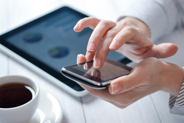 Smartphones and tablets: expected to help grow the online paid content market to £8 billion by 2017