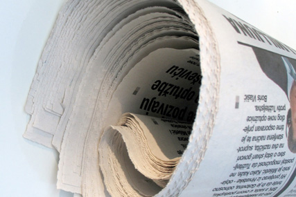 Newspapers: ad spend down 10% in Q4 of 2008