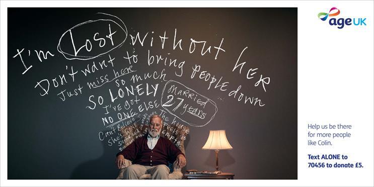 Age UK: ads emphasise struggles faced by older people