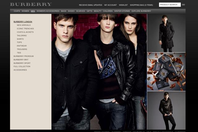 Luxury brands finally venture online