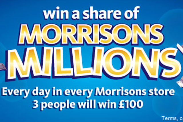 Morrisons: rolls out 'Millions' competition