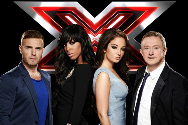 The X Factor: peaked at 11.9 million viewers on Saturday night