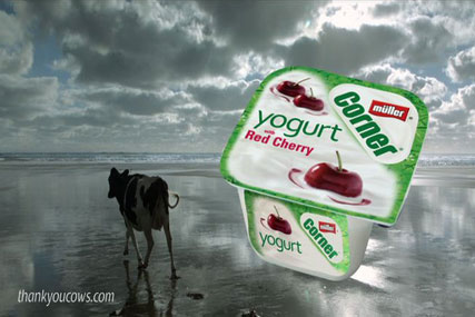 Muller: latest ad campaign