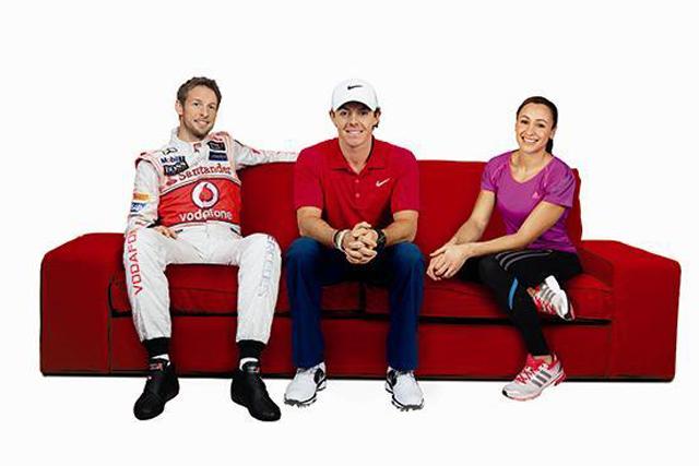Santander: sponsors Jenson Button, Rory McIlroy and Jessica Ennis