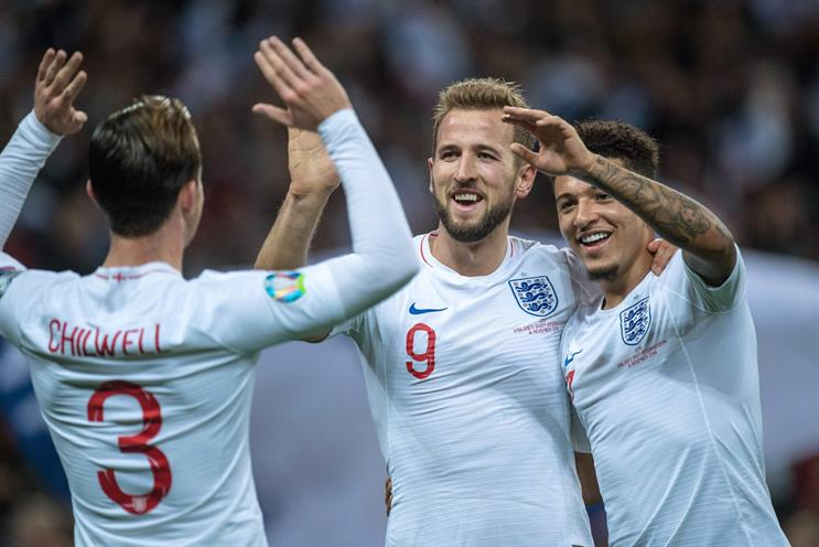 England: will play at national stadium Wembley should they make it to the semi-finals
