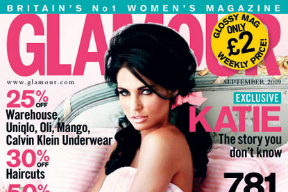 Glamour...best-selling woman's magazine
