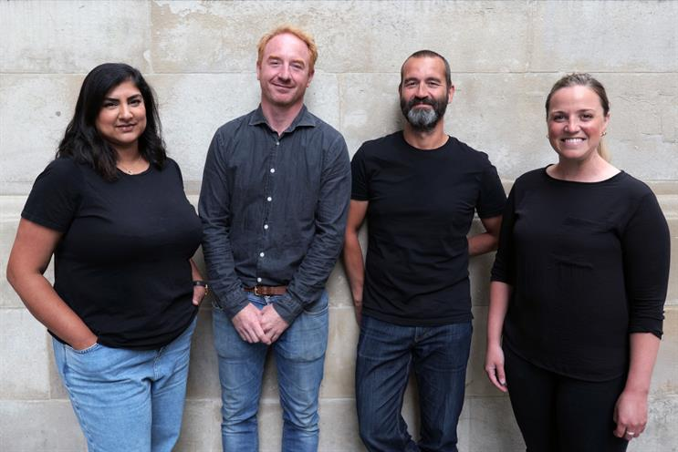 Leadership team: (left to right) Vara-Patel, Walton, Robins and Braund