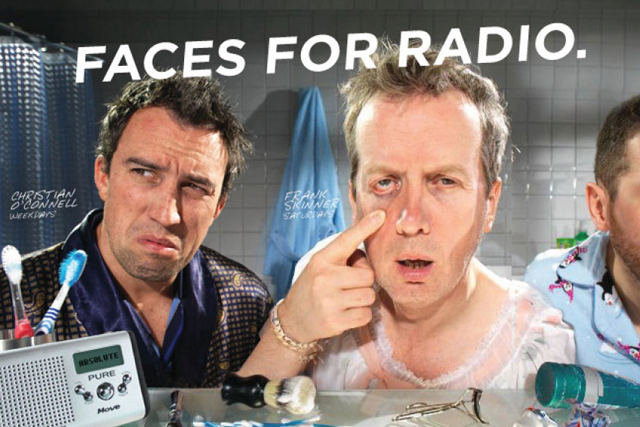 Absolute Radio: last year's 'faces for radio' campaign