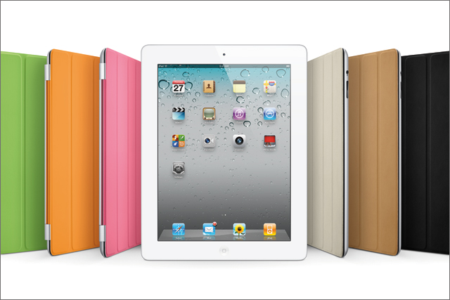 iPad2: soaring iPad and iPhone sales boosted Apple's profits in the final quarter of 2011