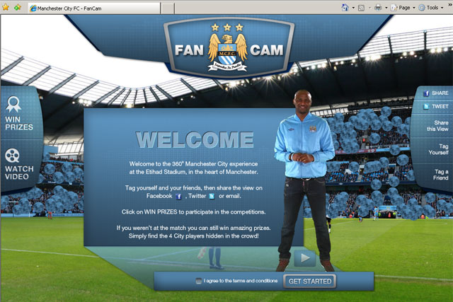 Manchester City: launches FanCam social media initiative