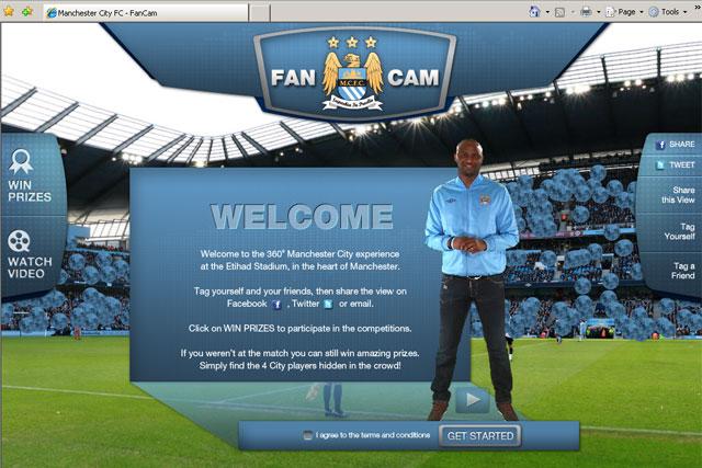 Manchester City: launches FanCam social media initiative