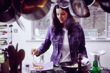 Nigella Lawson: launches cooking app