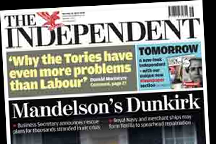 The Independent: set for relaunch by new owner Lebedev