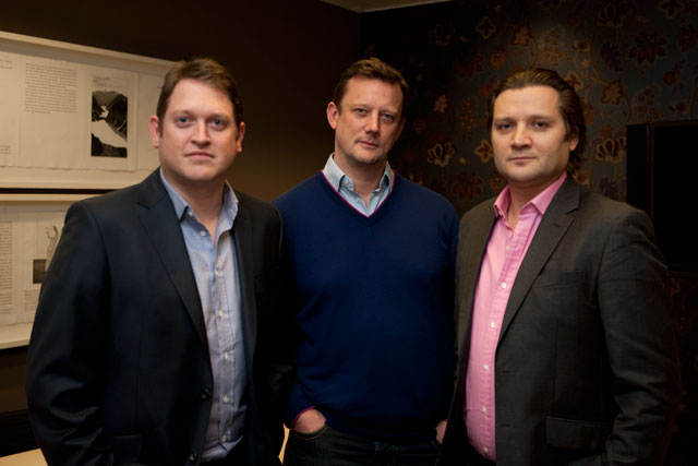 JWT exectuvie partners (l-r): Whitehead, Ramsey and Petyan