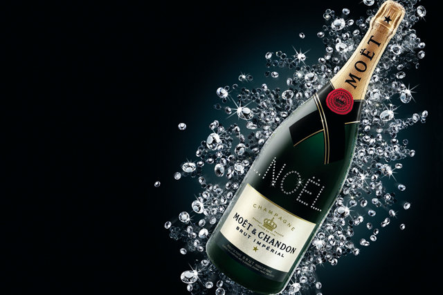 Moet & Chandon: highest share of voice