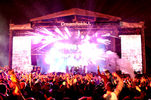 Creamfields last year was cancelled on the last day