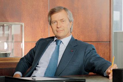 Vincent Bolloré: head of the Havas group