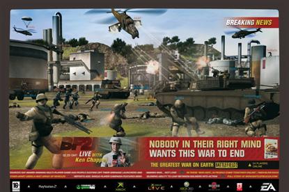 EA Games…integrated brief