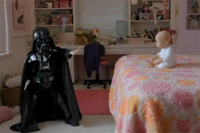 Volkswagen: mini Darth Vader campaign