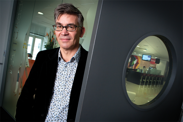 Harris: left Wunderman in March after six years as its executive creative director