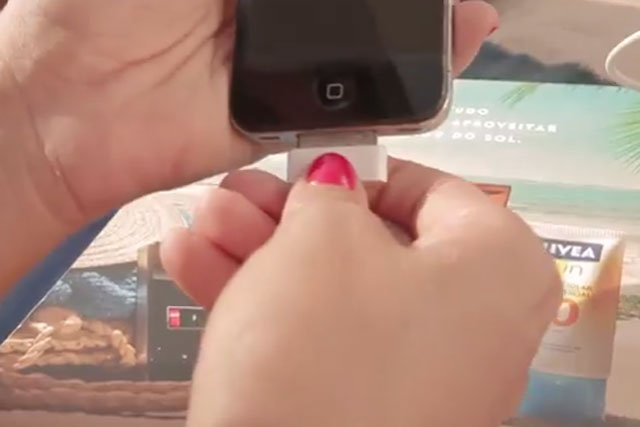 Nivea Sun: offers mobile charging service in latest campaign