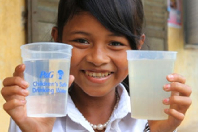 P&G: swaps Facebook 'likes' for clean water